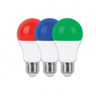 لامپ LED حبابی 9 وات رنگی پارس شعاع توس