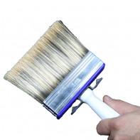 قلم مو نقاشی رنگ پلاستیک(مقلاویز)-4*14-پنگوئن