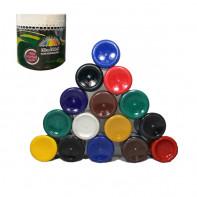 رنگبندی رنگ پلاستیک ربعی(250 گرمی) هیراد شیمی