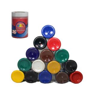 رنگبندی رنگ های آکریلیک 1 کیلویی هیراد شیمی