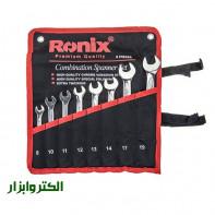 آچار سری 8 عددی یکسر رونیکس مدل 2101